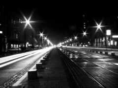 город, black, white