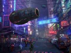 fantastic, cyberpunk, улица