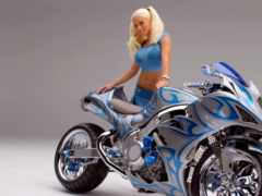 мотоциклы, девушка, devushki