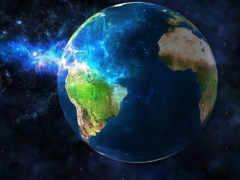 земля, kosmos, planeta