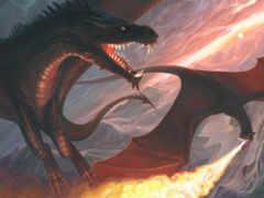 драконы, art, монстры
