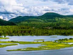 bardufoss, krajobrazy, rio