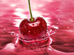 cherry, блин, сметана