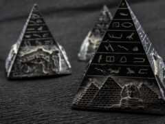 пирамида, son, египет
