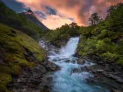 овраг, река, норвегия