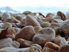 камни, прибрежные, галька