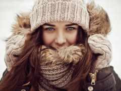 шапки, модные, шарфы
