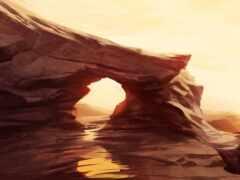 арта, пустыня