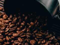 coffee, bean, браун
