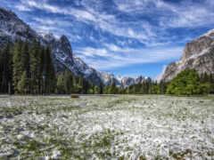 долина, гора, california