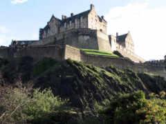 castle, эдинбург, город