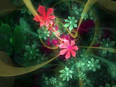 cvety, абстракция, абстракции