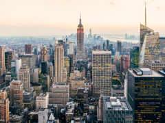 new, york, крыши