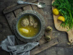 еда, суп, картофель