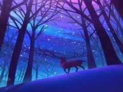 reindeer, vivo, iqoo