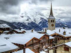 деревня, швейцария, cover