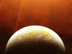 космос, планета, яркое