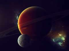 fondo, космос, uzay