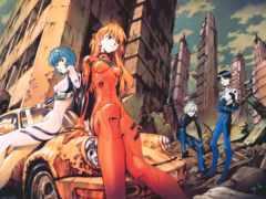 anime, evangelion, нарисованные