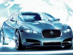 jaguar, concept, машина