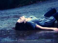 грустный, love, дождь