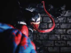 venom, паук, мужчина