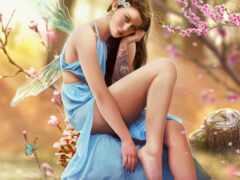 девушка, art, fantasy