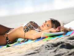 девка, pack, пляж