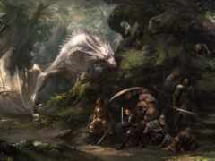 дракон, арта, лес