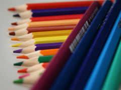 цветные, карандаши, разное