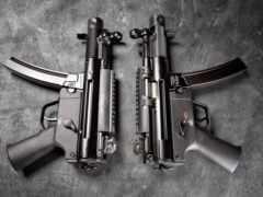 pair, пистолет, пулемет