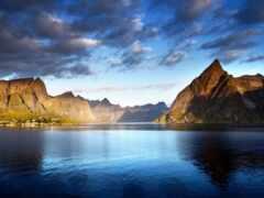 гора, berge, море