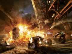 motorstorm, взрыв