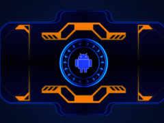 android, картинка, neon
