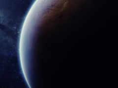 большая планета, и тень
