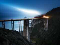 мост, long, exposure