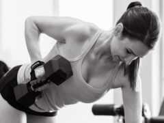 dumbbell, фитнес, singlet