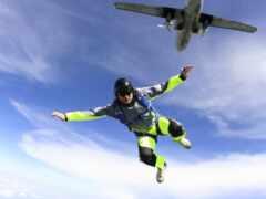 парашютист, парашютный, спорт