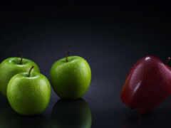 плод, яблоки, meal