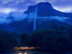 venezuela, nacional, водопад