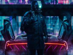 cyberpunk, driver, art