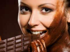 шоколаде, девушка, devushki