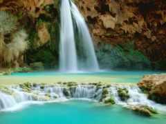 водопад, falls, havasu