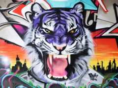 ke, gambar, grafitus