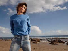 anine, девушка, море