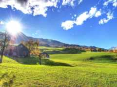 sun, тепло, осень Фон № 139986 разрешение 1920x1200