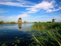 mill, река, нидерланды