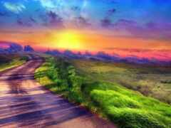 дорогой, путь, счастье