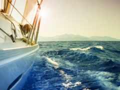 море, яхта, настроение