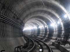 metro, туннель, большой